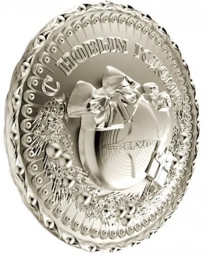 Медаль с логотипом