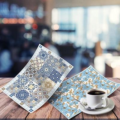 Декоративные салфетки для стола из ПВХ размер 480мм*320мм