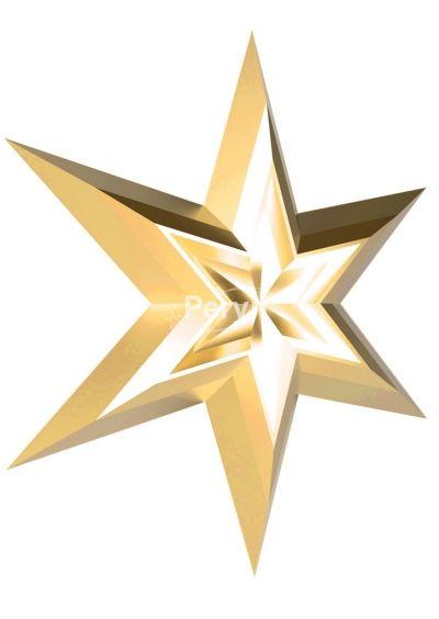 Двойная звезда золотая