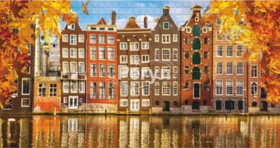 Мозаика  «Осень в Амстердаме»