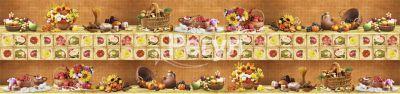 Панно «Деревенский натюрморт коричневый» + салфетки