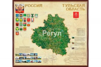 Карта Тульской области